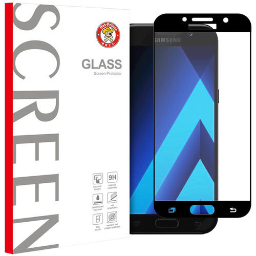 Black Full Tempered Glass Screen Protector - Samsung Galaxy A5 (2017)